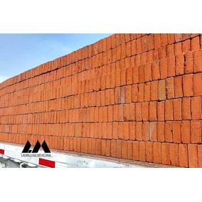 Ladrillo De Barro Rojo Recocido 100% Rústico