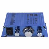 Amplificador Mini Hi-fi Para Coches, Motos Y Barcos Mp3 Dvd