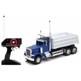 1:32 R/c Peterbilt Camion Torton Volteo De Control Remoto