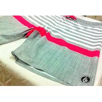 Bermudas Shorts Costura Laser Hurley Ripcurl Volcom+brinde!!
