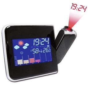 Reloj Proyector Despertador De Hora Digital Lcd Color Alarma