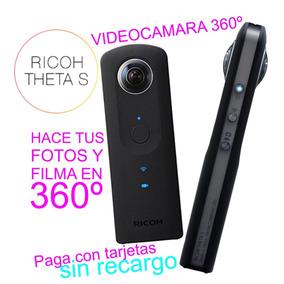 Ricoh Theta S Videocamara 360 Para Iphone Y Android