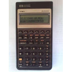 Hp 17bii Business Calculadora Financeira - Made In Singapore