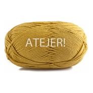 Hilo Algodón Semigordo 8/8 Ovillo X 100 Gs Tejido Crochet