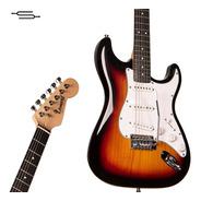 Guitarra Electrica Stratocaster Leonard Le362 Palanca Cable