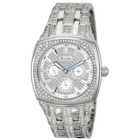 2e3793d32e0 Relógio Bulova Diamantado Suiço Importado Requinte Nobreza