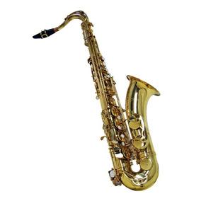 Saxofone Sax Tenor Dourado Sib Sgft-6435 Shelter