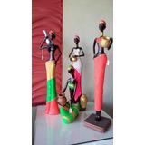 Negras Elegantes Munecas En Ceramica Al Mayor Y Detal