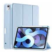 Funda iPad Air 4 Siwengde Rígida Soporte Lápiz Azul Claro