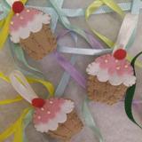 Lembrancinha: Chaveiro Ou Ímã De Feltro Cupcake