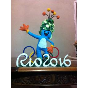 Mascote Olimpíadas 2016 Em Feltro ( Tom Ou Vinicius)