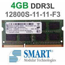 Memória 4gb Ddr3l Smart 1600mhz P/ Notebook 12800s-11-11-f3