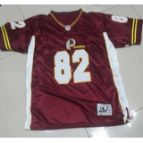 Camisa Washington Redskins Vinho Bordada - Garner 82