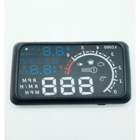 Painel Hud Lcd Obd Carro Head Up Display Modelo Lelong