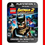 Lego Batman 2 Dc Super Heroes Ps3 : Digital : Nº1 En Ventas