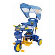Triciclo Bebe Toy Story Azul Xg-8001 Disney