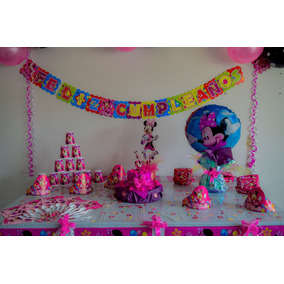 Kit Decoracion Fiesta Infantil Minnie
