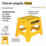 Taburete Banco Plegable, 1 Peldaño C/antiderrapante 22370