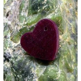 1 Corazón De Rubí 100% Natural Para Colgante 37 - 55 Carat