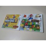 Vendo 2 Jogos Do Mario Para Nintendo 3ds