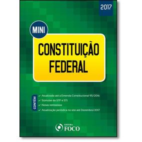 Mini Constituição Federal - 2017
