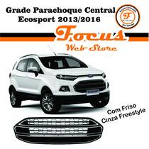 Grade Parachoque Ecosport 2013 2014 C/ Friso Cinza Freestyle