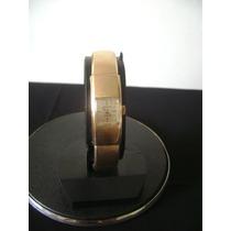 Antigo Relógio Bracelete Em Plaquê De Ouro June Watech