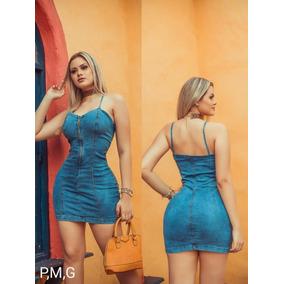Vestido Jeans Alcinha Ref309