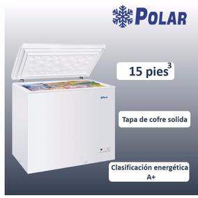 Congelador Tapa De Cofre Solida De 15 Pies Cub Ch-15 Polar