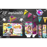 Kit Imprimible Soy Luna + Kit Imprimible #photobooth