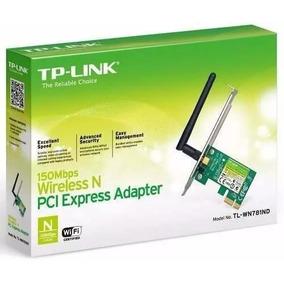Adaptador Inalambrico Pci-express Wifi Tplink Tl-wn781nd