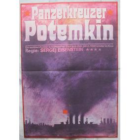 Potemkin Sergej Eisenstein Cartaz Original De Cinema