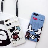 Funda Mickey Minnie Iphone 6/6s Y Plus 7 Y 7 Plus Promoción!