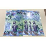 Billete Rusia100 Rublos Mundial 2018 Envio Inmediato