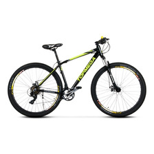 Bicicleta Mountain Bike R29 Top Mega Sunshine Aluminio 18 Cuotas + Regalo + Envio