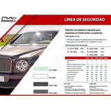 Pelicula Antiasalto Humo Claro 35% Blindex 50cm X 5 Mts