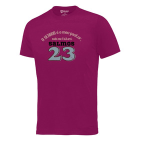 Camiseta O Senhor É Meu Pastor Camisa Evangélica #0219-rx