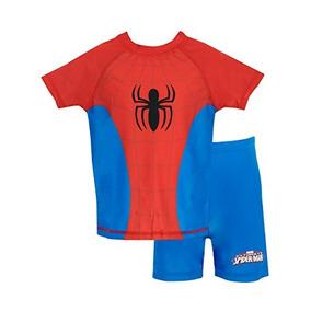 Spiderman - Juego De Baño De Dos Piezas Spider-man Para Hom
