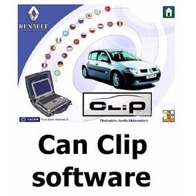 Renault Can Clip Software V165
