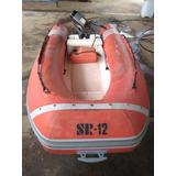 Flexboat Sr 12 1996 - Motor Suzuki 15 Hp 2002