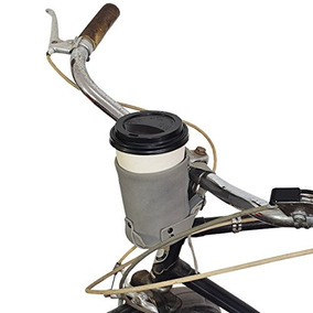 Cruzy Kuzy Leather Bike Cup Holder Hecho A Mano Por Hide & D