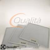 Filtro Alumínio Depurador Electrolux Original De80 - 3 Peças