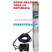 Bomba Eléctrica Sumergible Agua Limpia 2 Hp+ Envio Gratis
