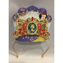 Tiara Coroa Princesa Branca De Neve Original Disney,p/entega