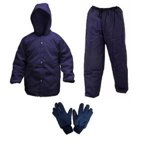 Conjunto Termico Para Camara Fria (japona/calça/luva)