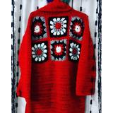 Saco Tejido Crochet