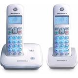 Teléfono Inalambrico Motorola Auri 3500-2 Duo Con Altavoz
