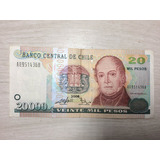 Billete $20.000 Antiguo 2008 Numismática Coleccionable