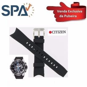 Pulseira Do Relógio Citizen Bj-2110-01 Borracha100% Original