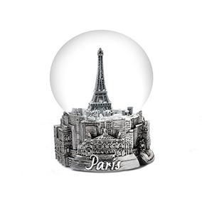 Globo De La Nieve De La Torre Eiffel De París Francia 65m M